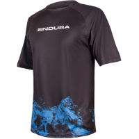 Endura Singletrack Print T Mountains Radtrikot