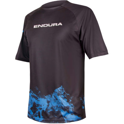 Endura Singletrack Print T Mountains Jersey