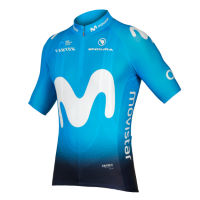 Endura Movistar Team fietstrui (korte mouwen, 2018)