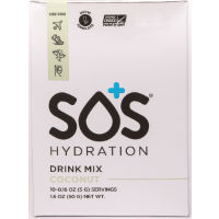 SOS Rehydrate SOS Coconut Electrolyte Drink Mix (10x4.6g)