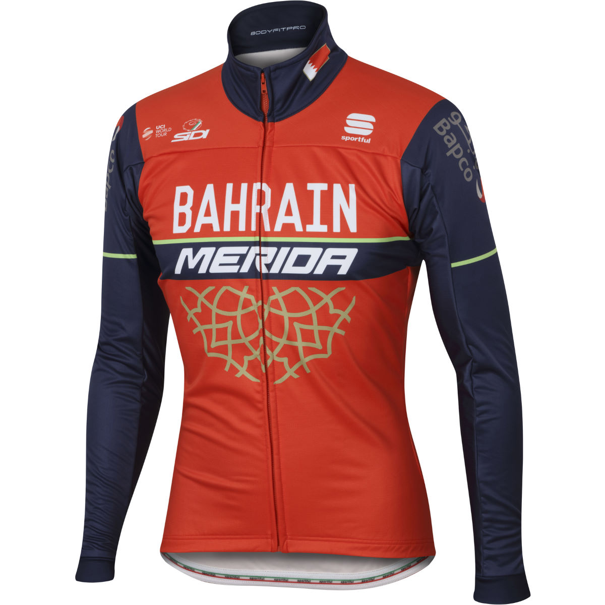 Veste Sportful Bahrain-Merida BodyFit Partial Protection - M Vestes
