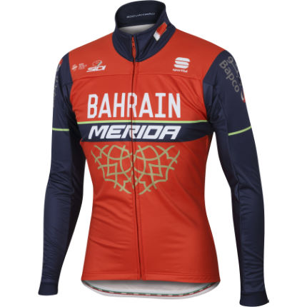 Sportful Bahrain-Merida BodyFit Partial Protection Jacket