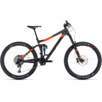picture of Cube Stereo 160 C:62 TM 27.5 Suspension Bike (2018)