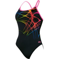 Zoggs Womens Flame Sprintback Swimsuit