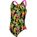 Zoggs Girls Paradise Flyback Swimsuit
