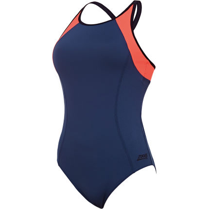 Zoggs Women's Heron Dash X Back Swimsuit