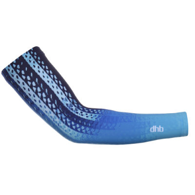 dhb Manguitos dhb Aeron Speed Momentum - Manguitos y perneras Blue/White/Black Large