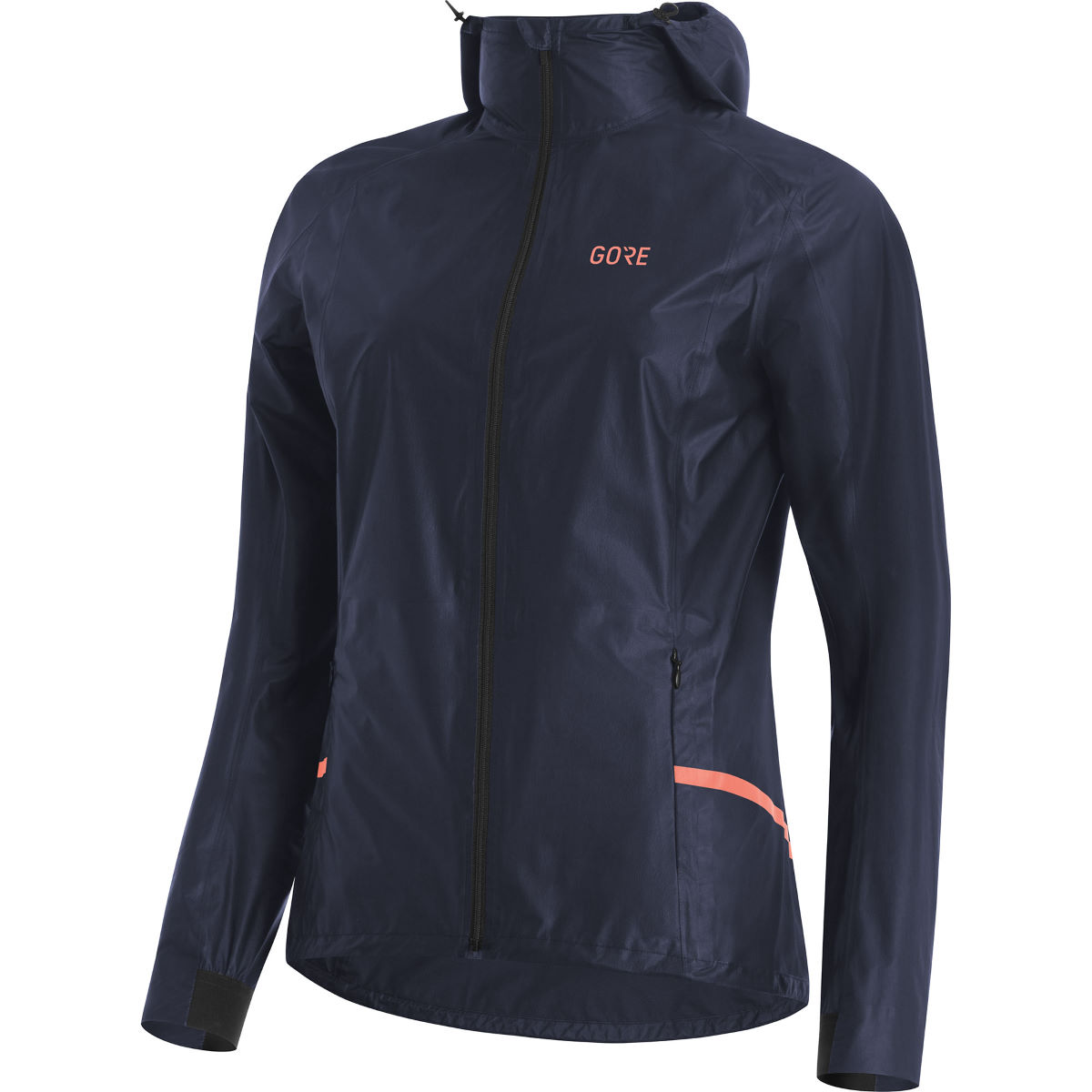 Gore Women's R7 GORE-TEX® SHAKEDRY Hooded Jacket - XS Storm Blue