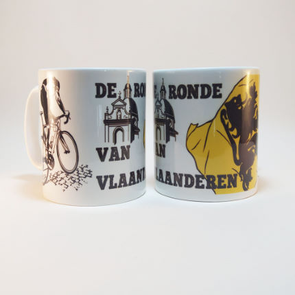 Cycling Souvenirs Tour of Flanders Mug