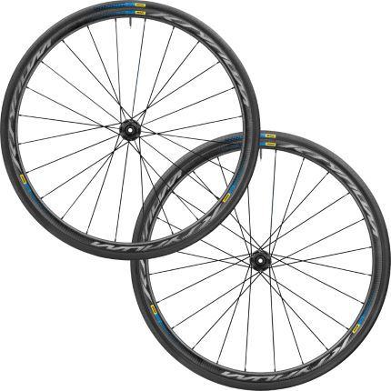 Mavic Ksyrium Pro Carbon SL Clincher Disc CL Haute Route