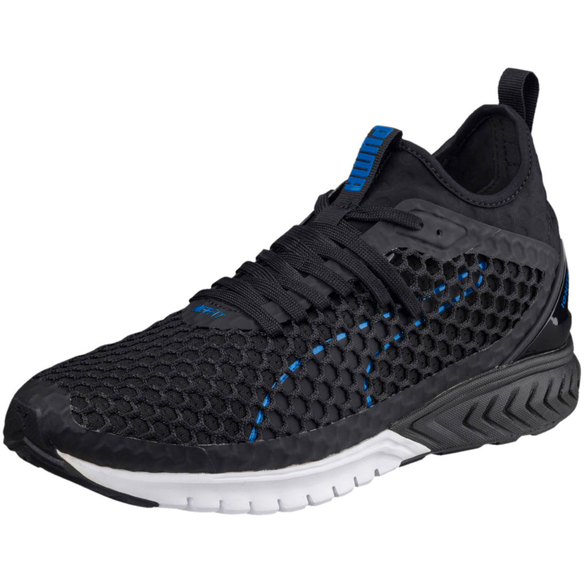 Puma Ignite Dual Netfit Shoes - UK 12 black-turkish sea