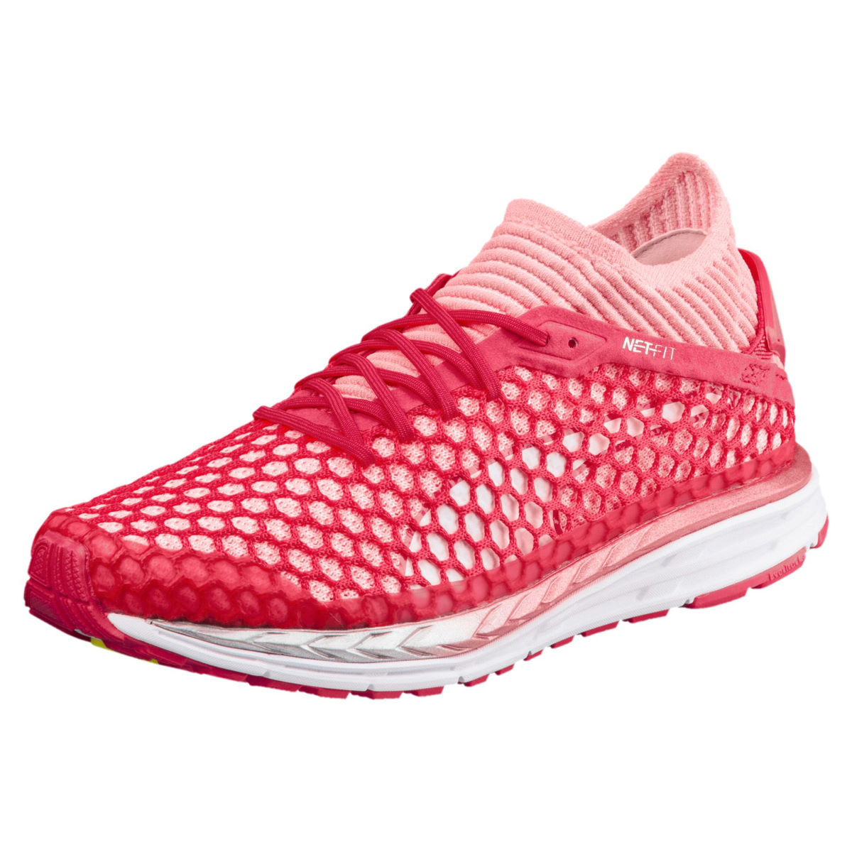 Chaussures Femme Puma Speed Ignite Netfit 2 - UK 4 pink-peach-white