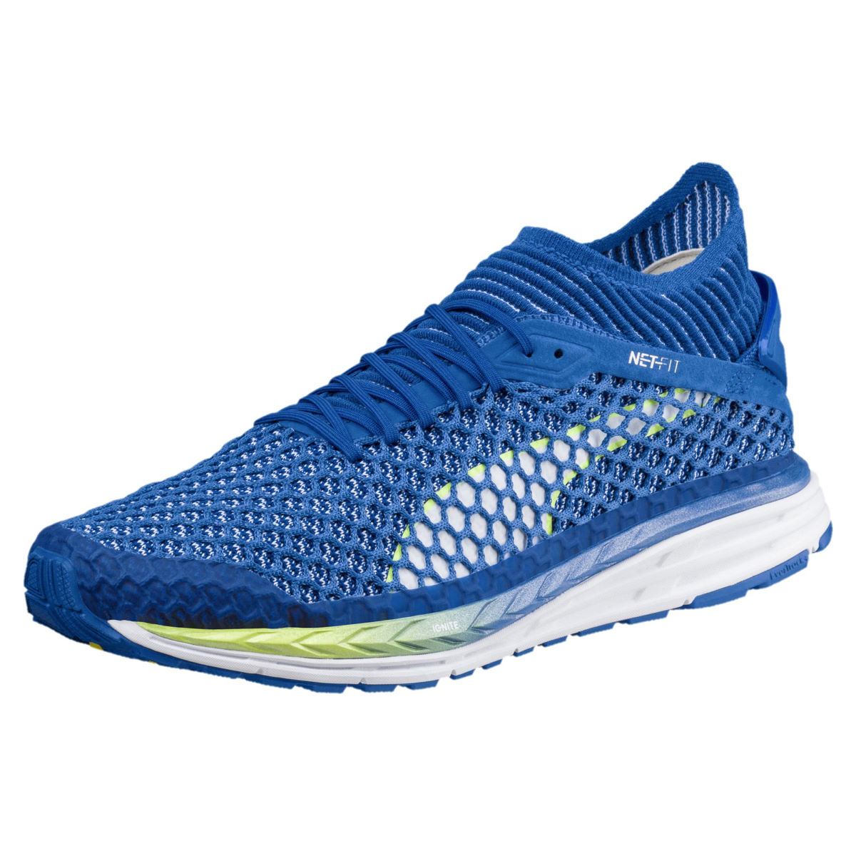 Chaussures Puma Speed Ignite Netfit 2 (bleues) - UK 11
