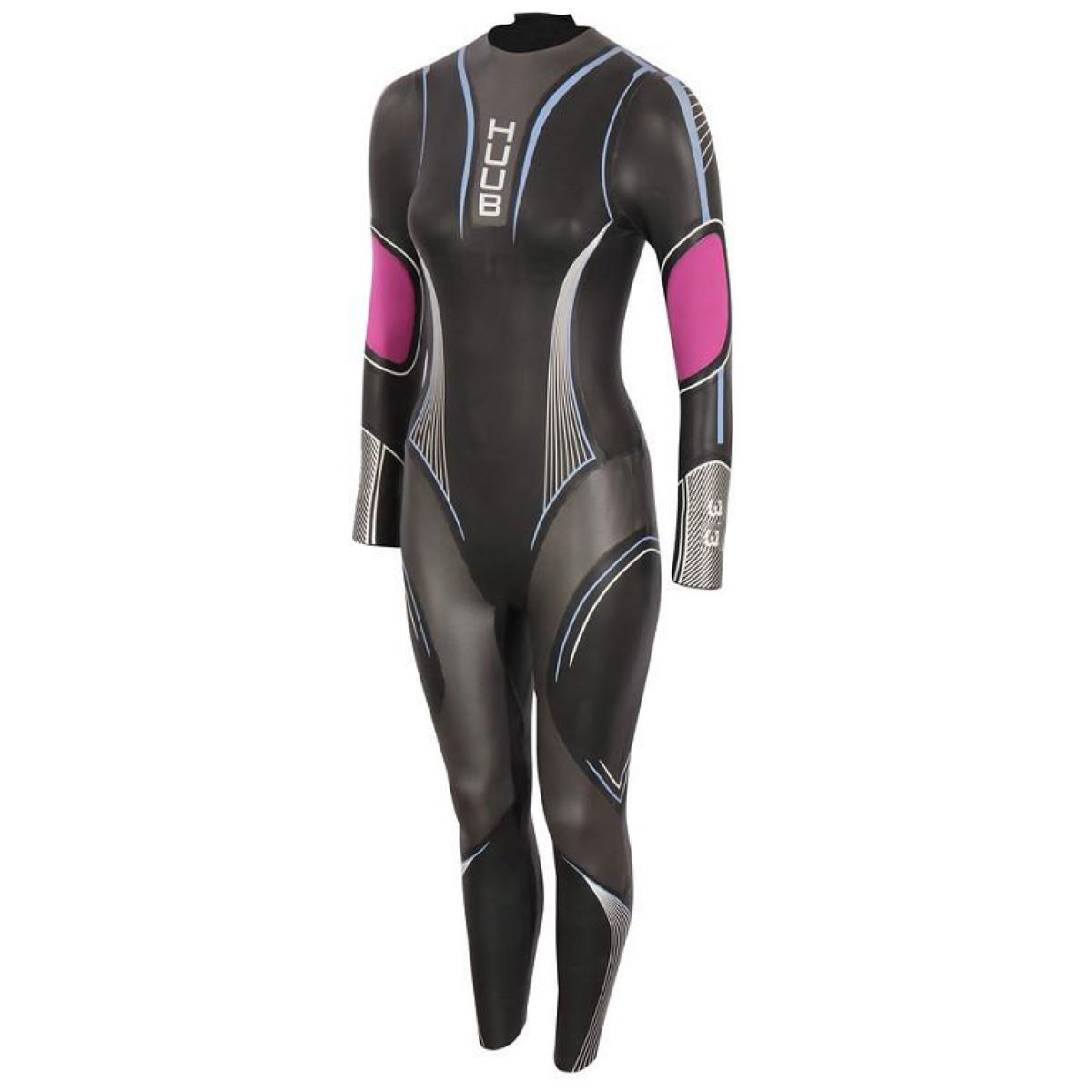HUUB ACARA 3:3 - ML Black/Pink | Wetsuits