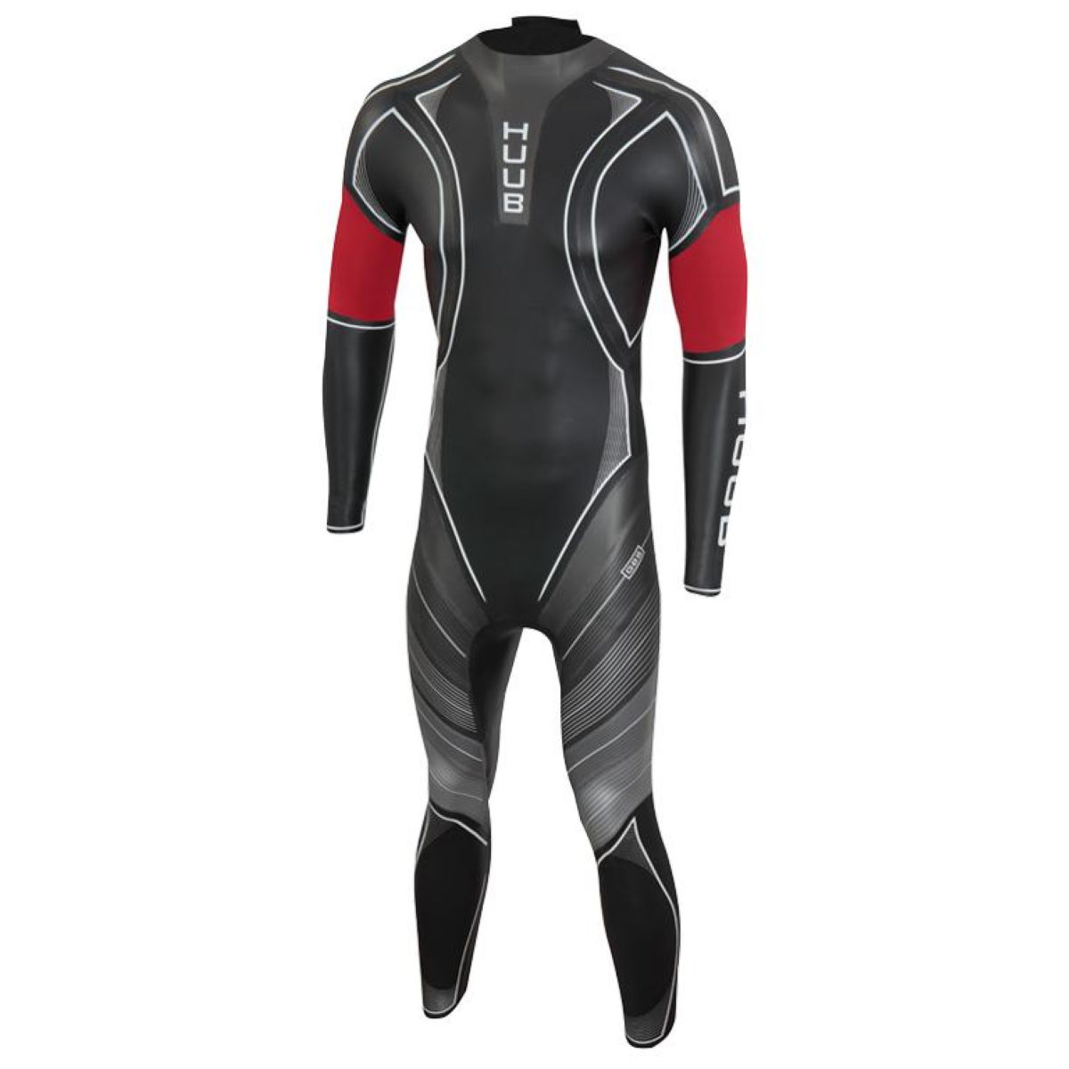 HUUB ARCHIMEDES III 3:5 - Medium Large Black/Red | Wetsuits
