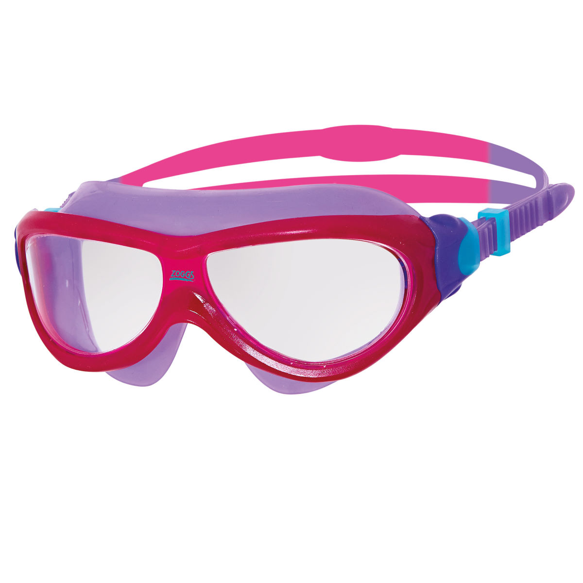 Masque Enfant Zoggs Phantom™ - Taille unique Pink/purple/clear