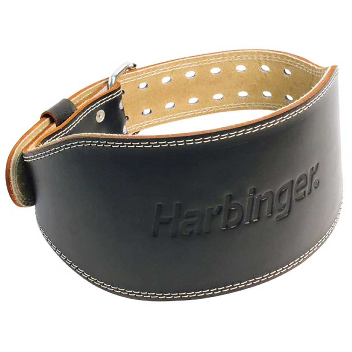 "Harbinger 6"" Padded Leather Belt - Cinturones de musculación"