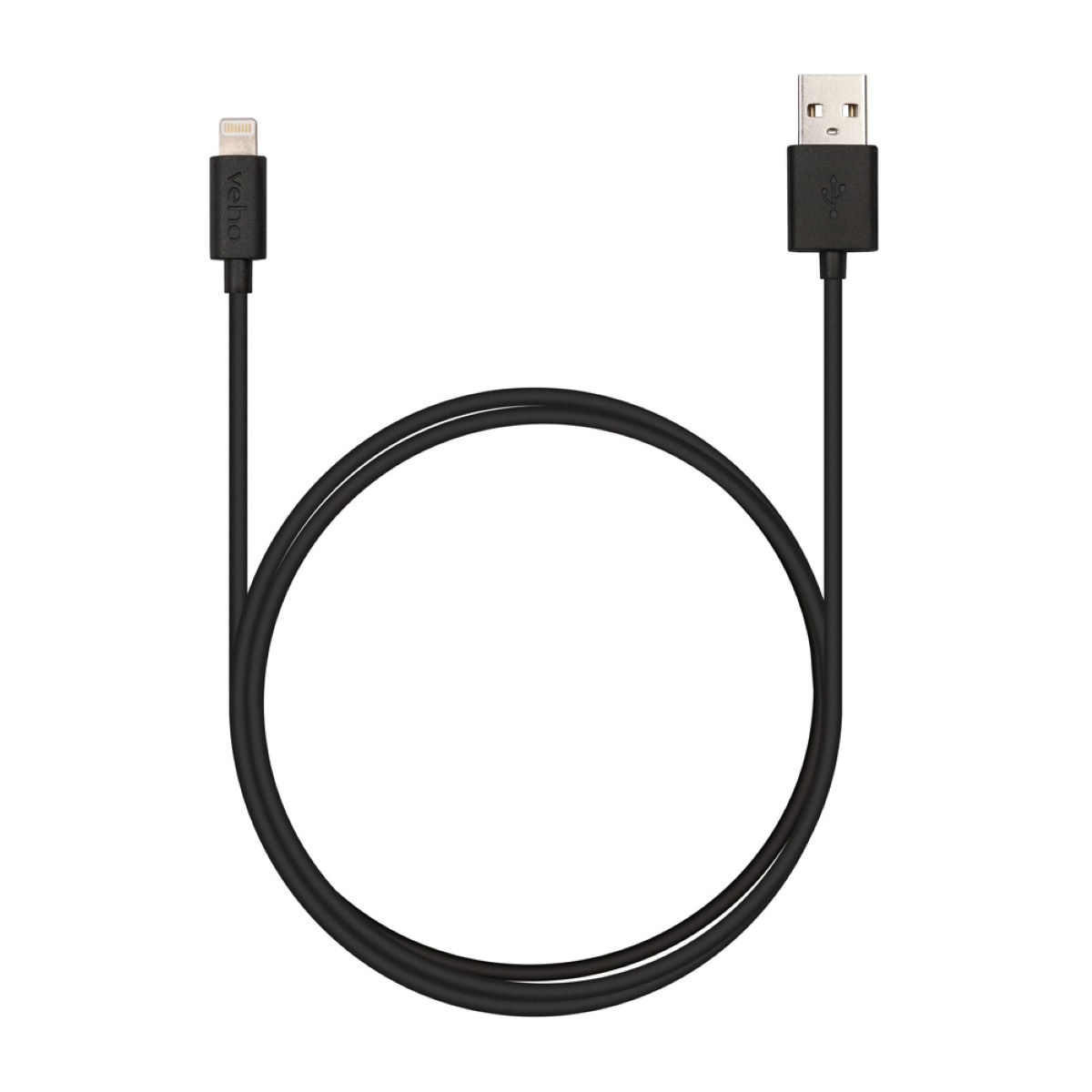 Veho Pebble Apple Lightning Cable (1m) - Cables de alimentación