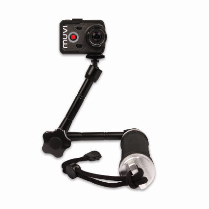 Veho Muvi 3 Way Monopod with Extended Arm
