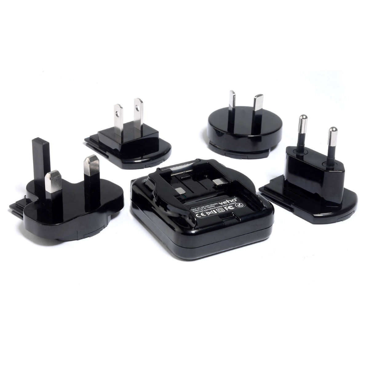 Veho Multi Regional Mains USB Adapter - Cargadores