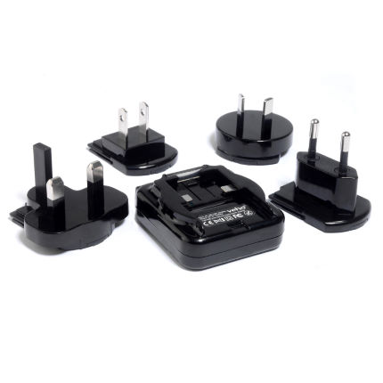 Veho Multi Regional Mains USB Adapter