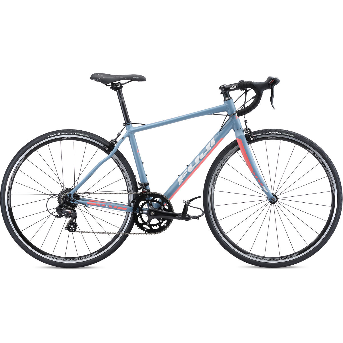Vélo de route Fuji Finest 2.5 - 44cm Stock Bike Denim Blue