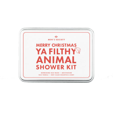 Men's Society Ya Filthy Animal' Shower Kit