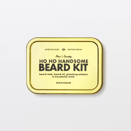 Men's Society Ho Ho Handsome Beard Kit