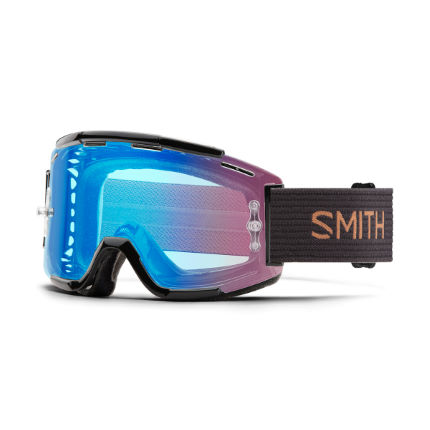 Smith Squad Mtb  Gravy Split  Clear Lens