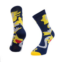 Ratio Floral 16cm Sock (Navy)