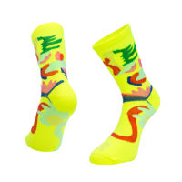 Ratio Floral 16cm Sock (Yellow)