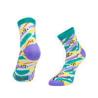 Ratio Jungle 10cm Sock (Yellow)