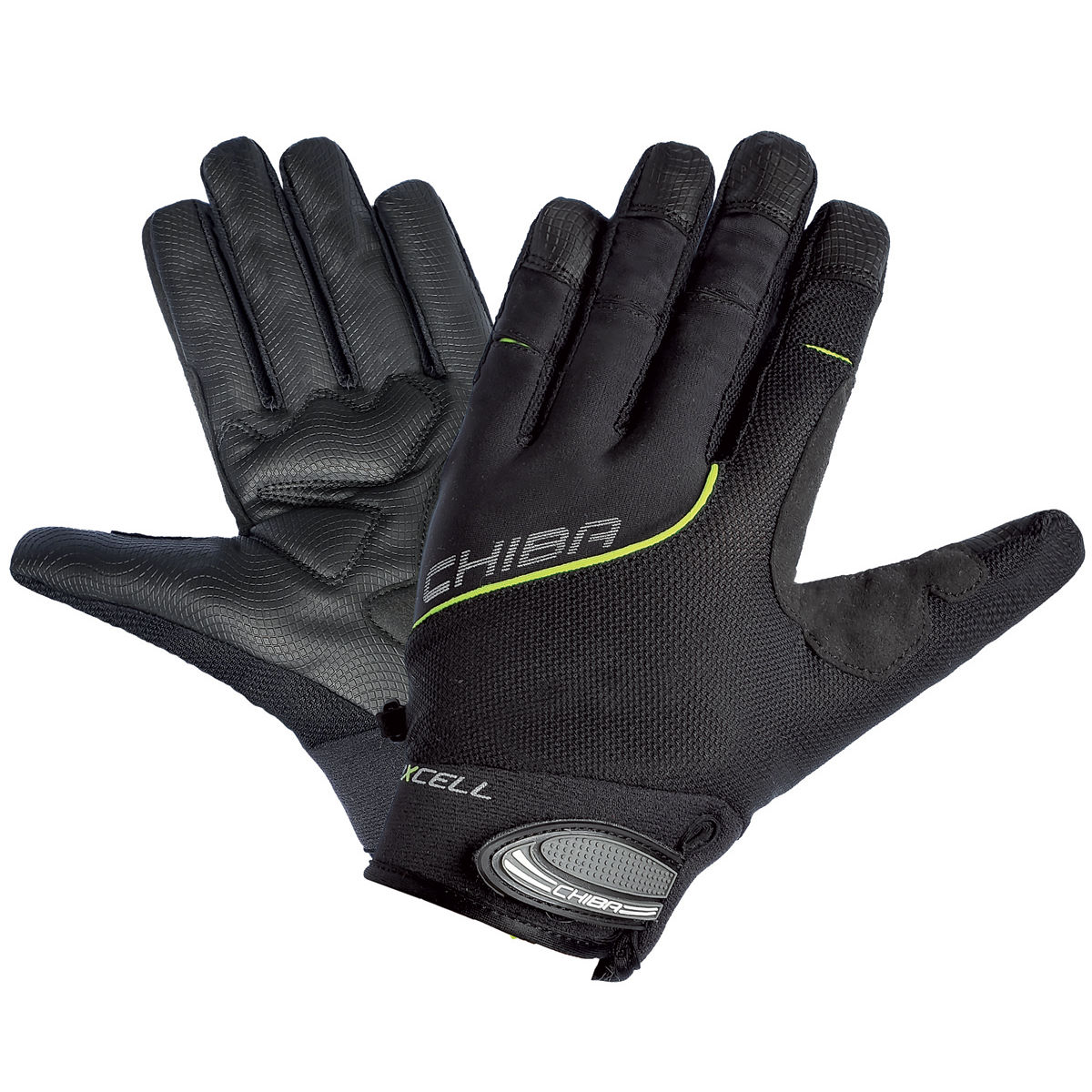 Chiba Bioxcell Full Fingered Touring Gloves - Guantes