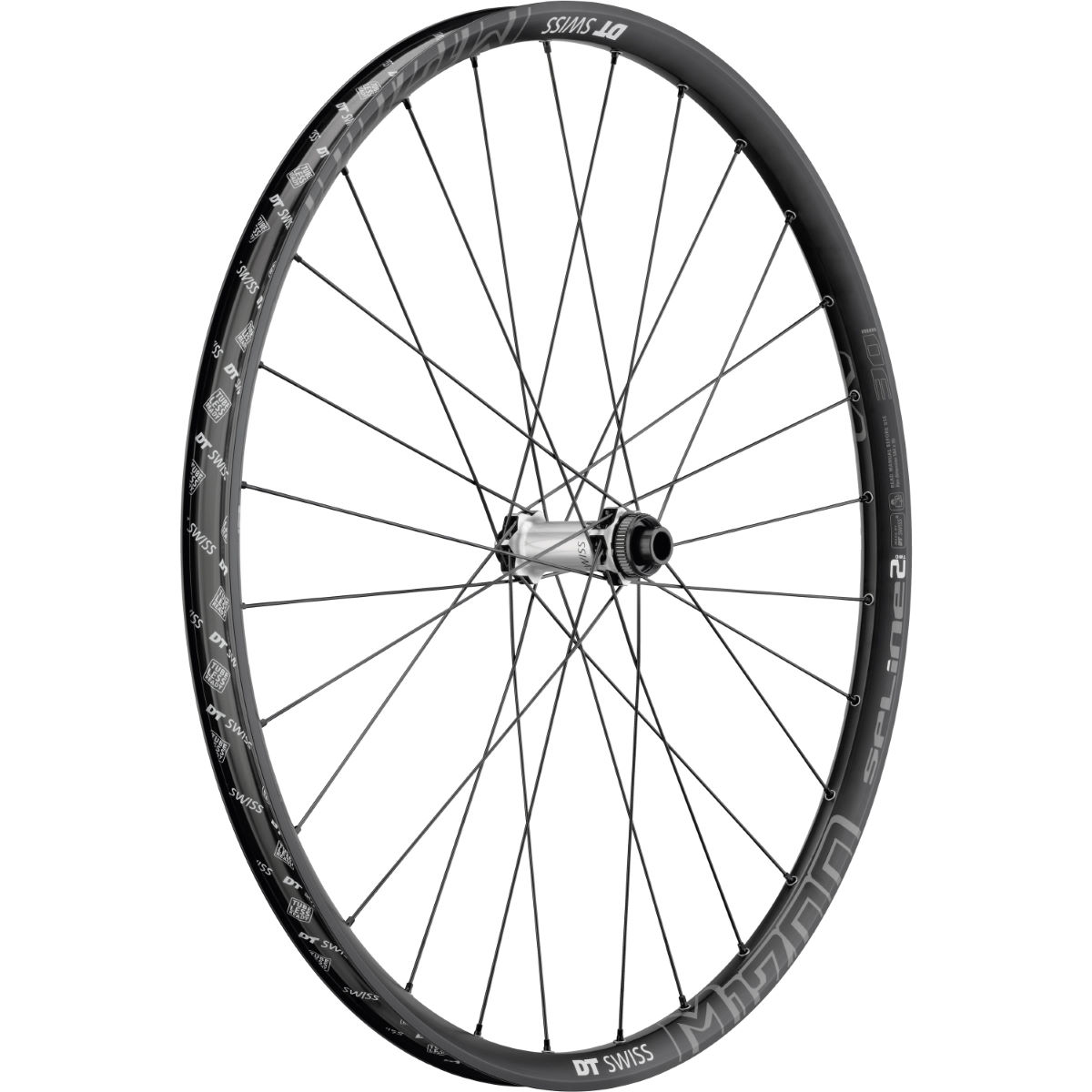 Roue avant DT Swiss M1700 Spline Two 30 Boost - 27.5'' 15 x 110mm