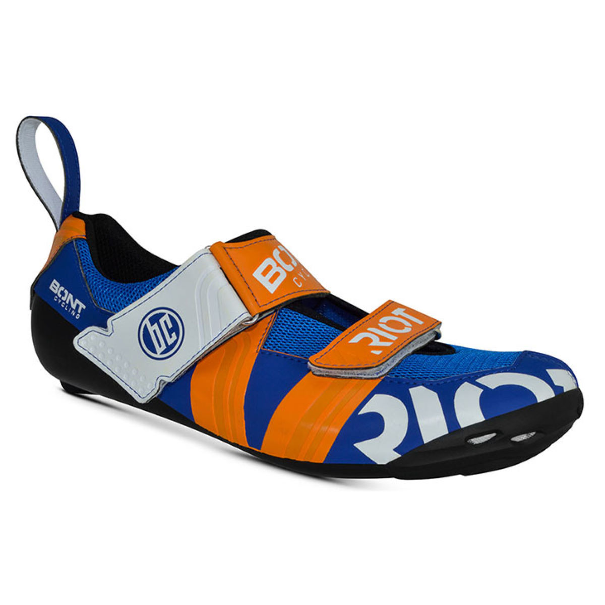 Chaussures de triathlon Bont Riot TR+ - EU 48 Midnight/Mega Crimso
