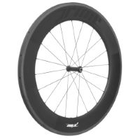 Roue avant Prime BlackEdition 85 (carbone, boyau)