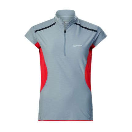 Berghaus Women's Super Tech Tee SS Zip