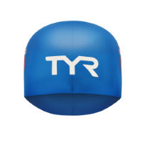 TYR British Federation Silicone Swim Cap