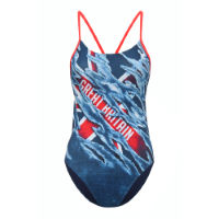 TYR Womens British Federation Cutoutfit