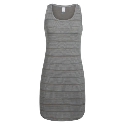 Icebreaker Women's Yanni Tank Dress Combed Lines