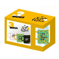 Tour de France Set of Three Mugs
