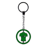 Tour de France Metal Keyring Green Jersey