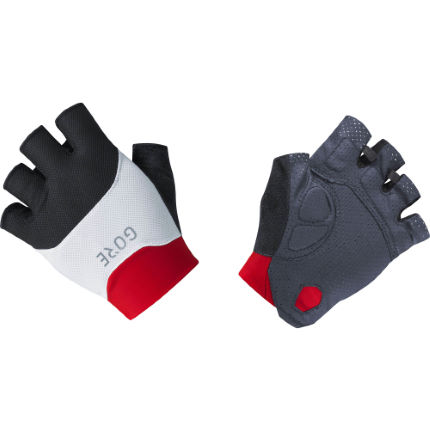 Gore C3 Short Gloves Red XL
