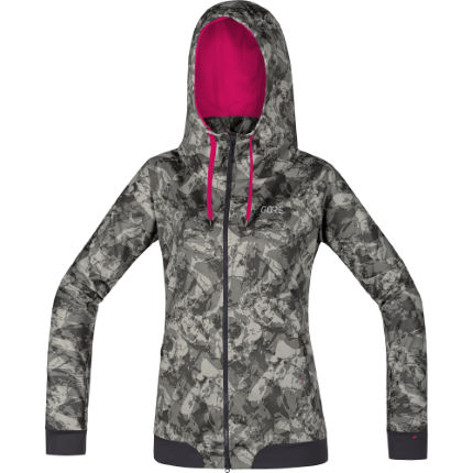 Gore Wear Women's C5 Windstopper® Trail Camo Hooded Jacket