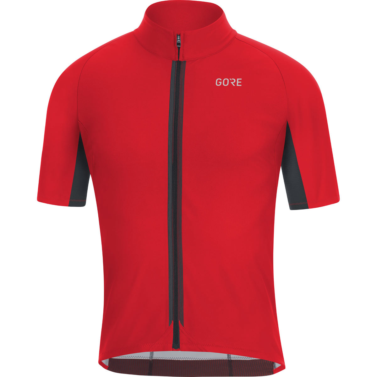 Gore C7 Windstopper® Jersey Black L - XL Red