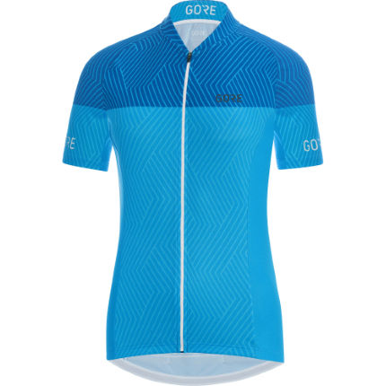 Gore Women's C3 Optiline Jersey White/Pink L