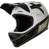 picture of Fox Racing Rampage Pro Carbon Preest Helmet White/Black XL