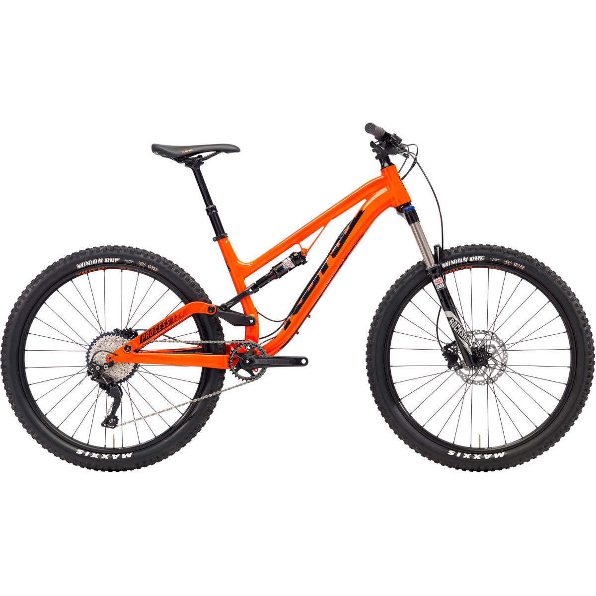 VTT Kona Process 134 SE (2018) - Small Stock Bike Orange