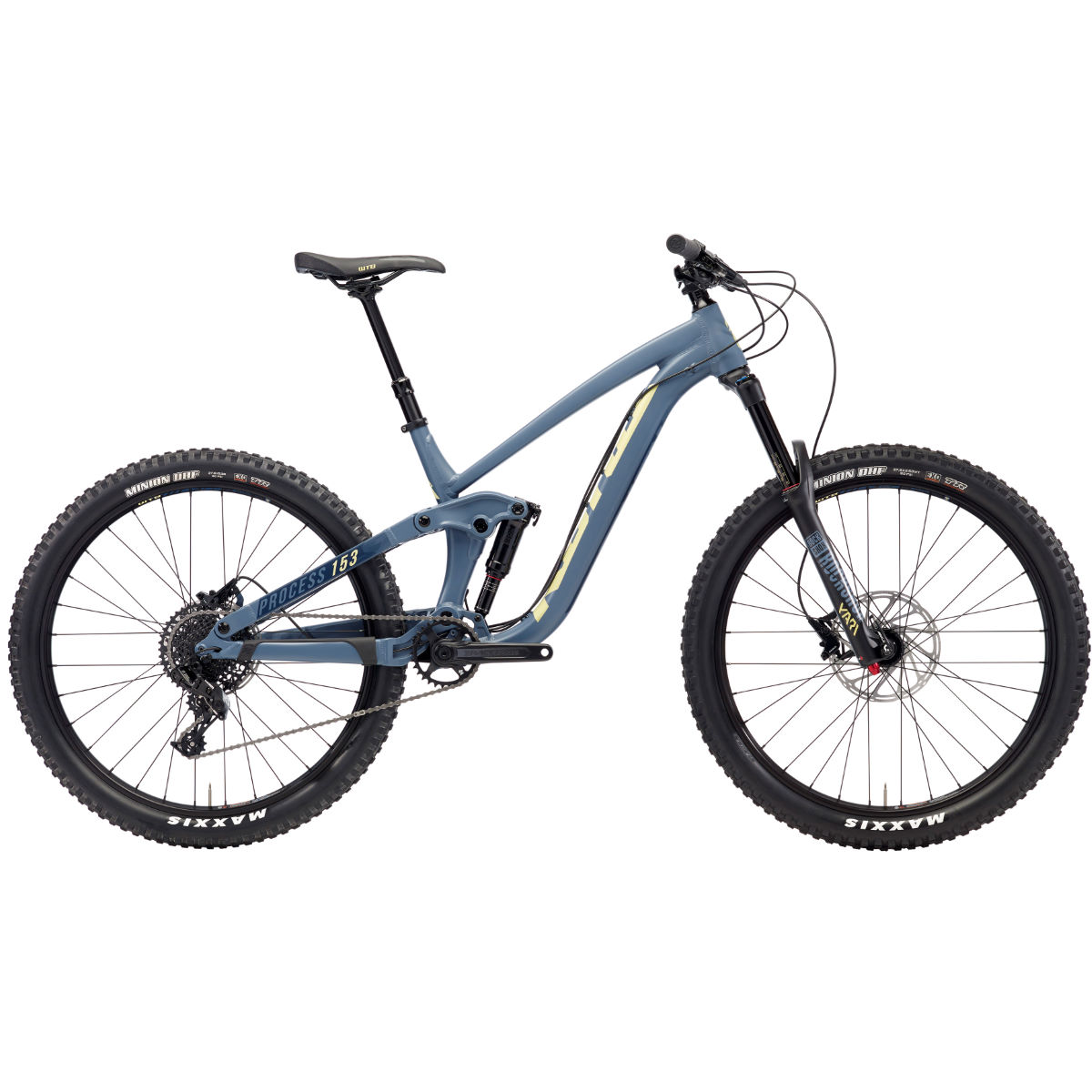 VTT Kona Process 153 AL 27,5 pouces (2018) - Medium Stock Bike Bleu
