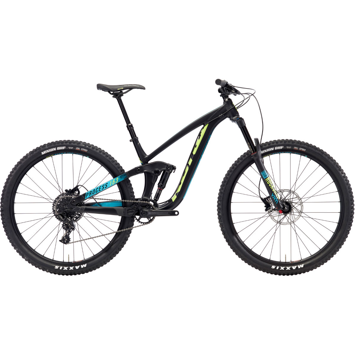 VTT Kona Process 153 AL 29 pouces (2018) - Medium Stock Bike Noir
